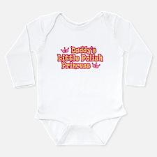 Unique Polish princess Long Sleeve Infant Bodysuit