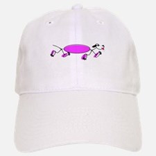 RUNNING DOG Baseball Baseball Cap