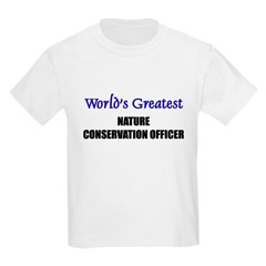 Worlds Greatest NATURE CONSERVATION OFFICER T-Shirt