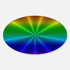 Gradient Rainbow Design Decal