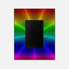 Gradient Rainbow Design Picture Frame