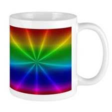 Gradient Rainbow Design Mugs