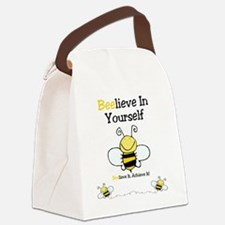 Beelieve In Yourself Canvas Lunch Bag