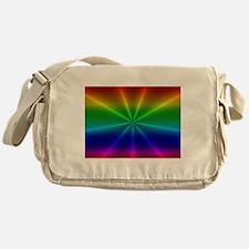 Gradient Rainbow Design Messenger Bag