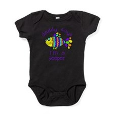 Cute Daddys fishing Baby Bodysuit