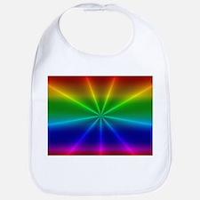 Gradient Rainbow Design Bib