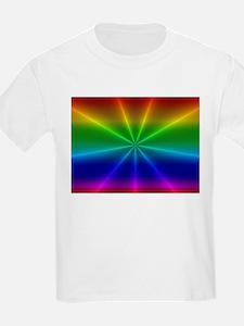 Gradient Rainbow Design T-Shirt