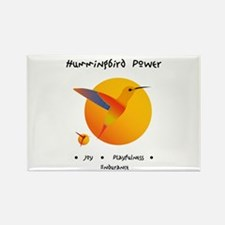 Hummingbird Animal Power Gifts Magnets