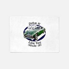 Austin Healey 3000 5`x7`Area Rug