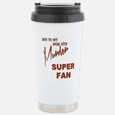 SUPER FAN Stainless Steel Travel Mug