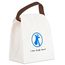 I Have Giraffe Power Gifts Canvas Lunch Bag