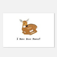 I Have Deer Power Gifts Postcards (Package of 8)