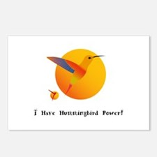I Have Hummingbird Power Gifts Postcards (Package