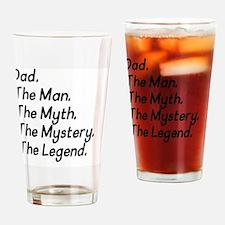 Dad M4 Drinking Glass