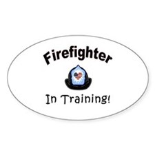 Firefighter In Training Decal