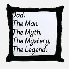 Dad M4 Throw Pillow