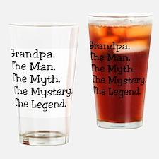 Grandpa M4 Drinking Glass