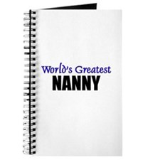 Worlds Greatest NANNY Journal