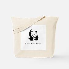 I Have Panda Power Gifts Tote Bag