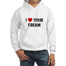 I * Sour Cream Hoodie
