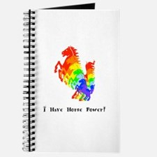 I Have Rainbow Horse Power Gifts Journal