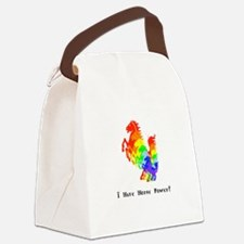 I Have Rainbow Horse Power Gifts Canvas Lunch Bag