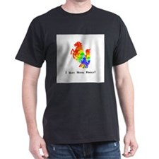 I Have Rainbow Horse Power Gifts T-Shirt