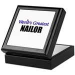 Worlds Greatest NAILOR Keepsake Box
