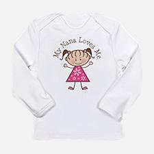 Cute Nana Long Sleeve Infant T-Shirt