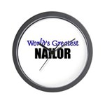 Worlds Greatest NAILOR Wall Clock