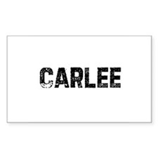 Carlee Rectangle Decal