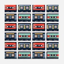 Cassettes Pattern Tile Coaster