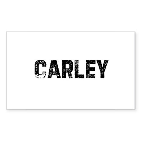 Carley Rectangle Sticker