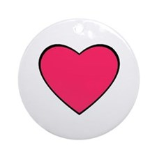 BIG HEART Ornament (Round)- HAVE MATCH TANK TOPS