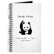 Panda Animal Power Gifts Journal