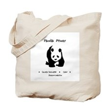 Panda Animal Power Gifts Tote Bag