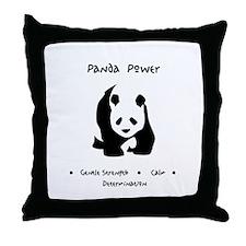 Panda Animal Power Gifts Throw Pillow