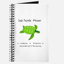 Sea Turtle Sacred Animal Totem Power Journal