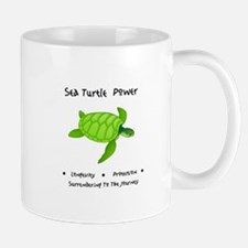 Sea Turtle Sacred Animal Totem Power Mugs