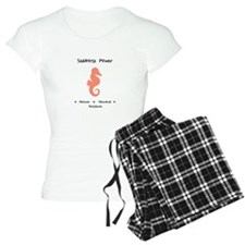 Pink Seahorse Sacred Totem Power Gifts Pajamas