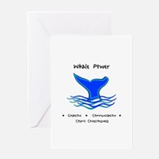 Whale Tale Sacred Totem Power Gifts Greeting Cards