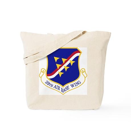 39th Air Base Wing Tote Bag