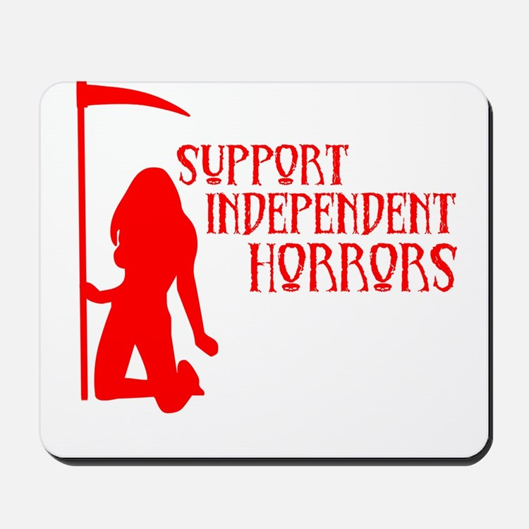 Support Independent Horrors Mousepad