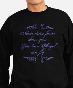 Guardian Angel Humor Sweatshirt