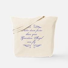 Guardian Angel Humor Tote Bag