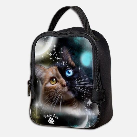 space kitty Neoprene Lunch Bag