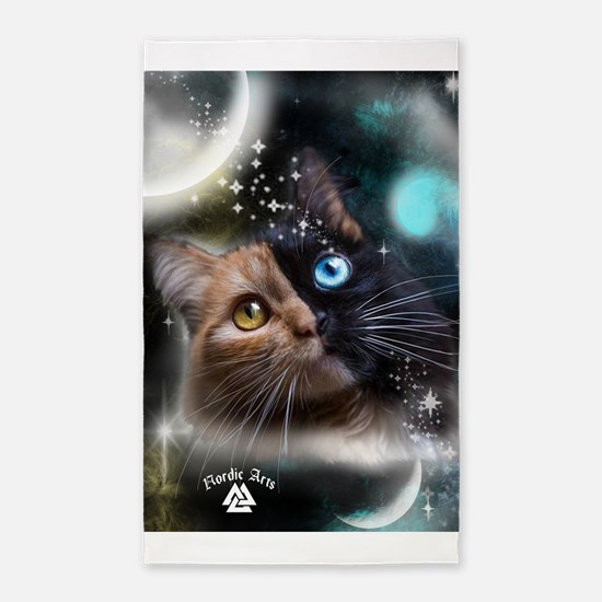 space kitty Area Rug