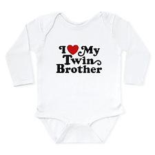 Unique Twins Long Sleeve Infant Bodysuit
