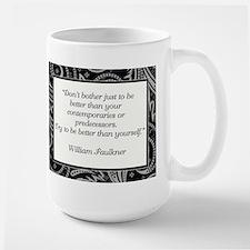 DON'T BOTHER JUST... Large Mug