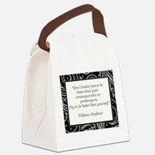 DON'T BOTHER JUST... Canvas Lunch Bag